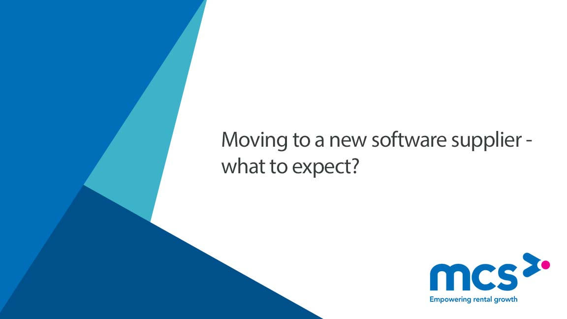 Moving to a new rental software solution