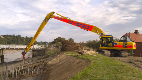 Excavator hire software