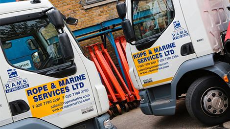rope and marine vans