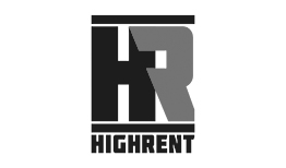 high rent logo