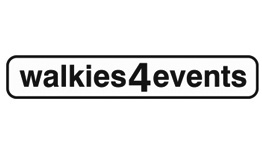 Walkies 4 Events Logo